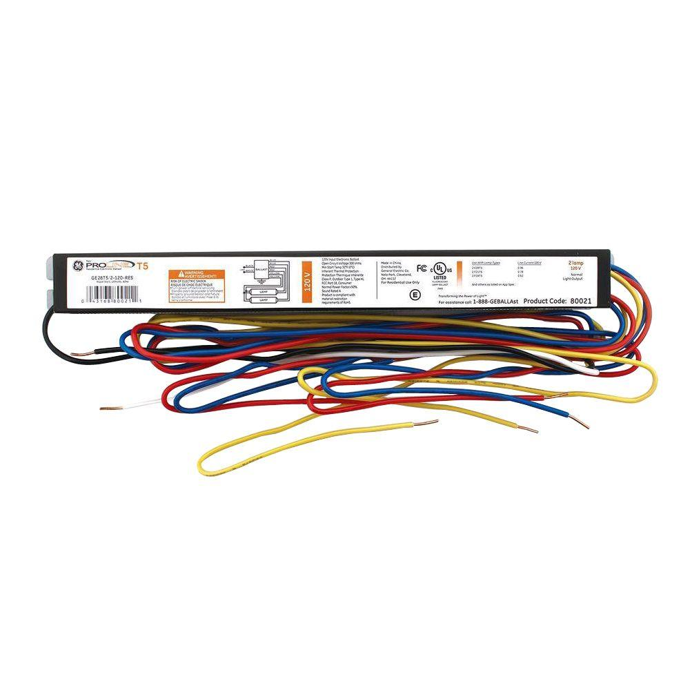 4 Foot 2 Lamp Ballast Wiring Diagram Library Fluorescent 80021 General Electric Rh Octopart Com
