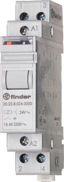 DIN RELAY 1NO//1NC STEP 24VAC Part # FINDER 20.23.8.024.4000