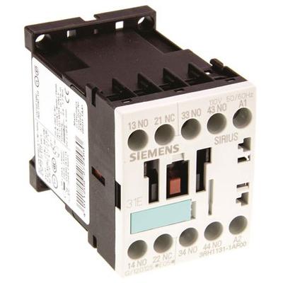 Contactor Relay 3RH11311AF00 Siemens 110VAC 3RH1131-1AF00