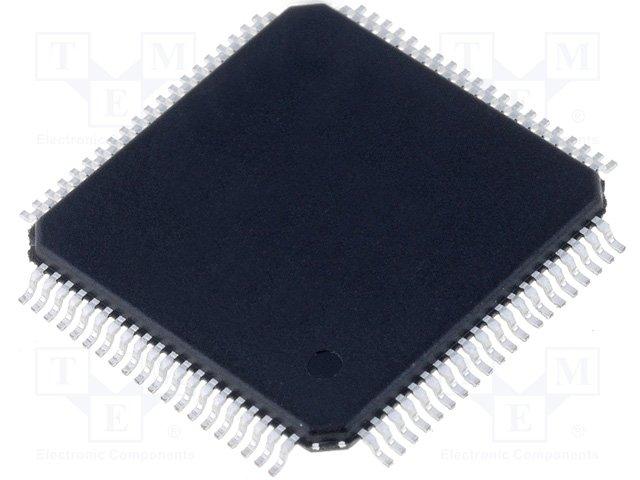 24MHZ STMICROELECTRONICS   STM8S207M8T6BTR   MCU 8BIT LQFP-80 STM8S