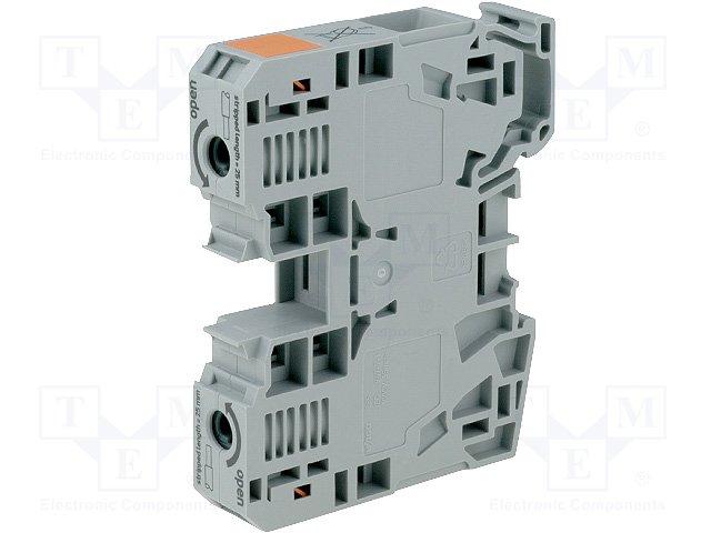 2POS WAGO 285-135 TERMINAL BLOCK 8-2AWG DIN RAIL