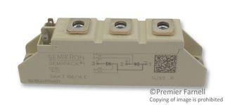 106A A 46 SEMIKRON SKKT 106//16E THYRISTOR MODULE 1.6KV
