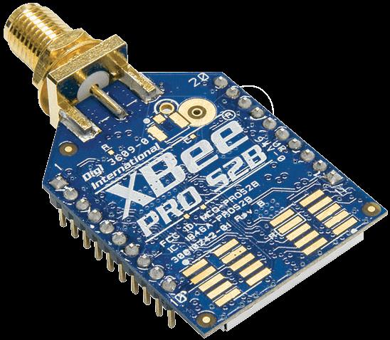 Xbee pro s b power modulo sma digi serie km