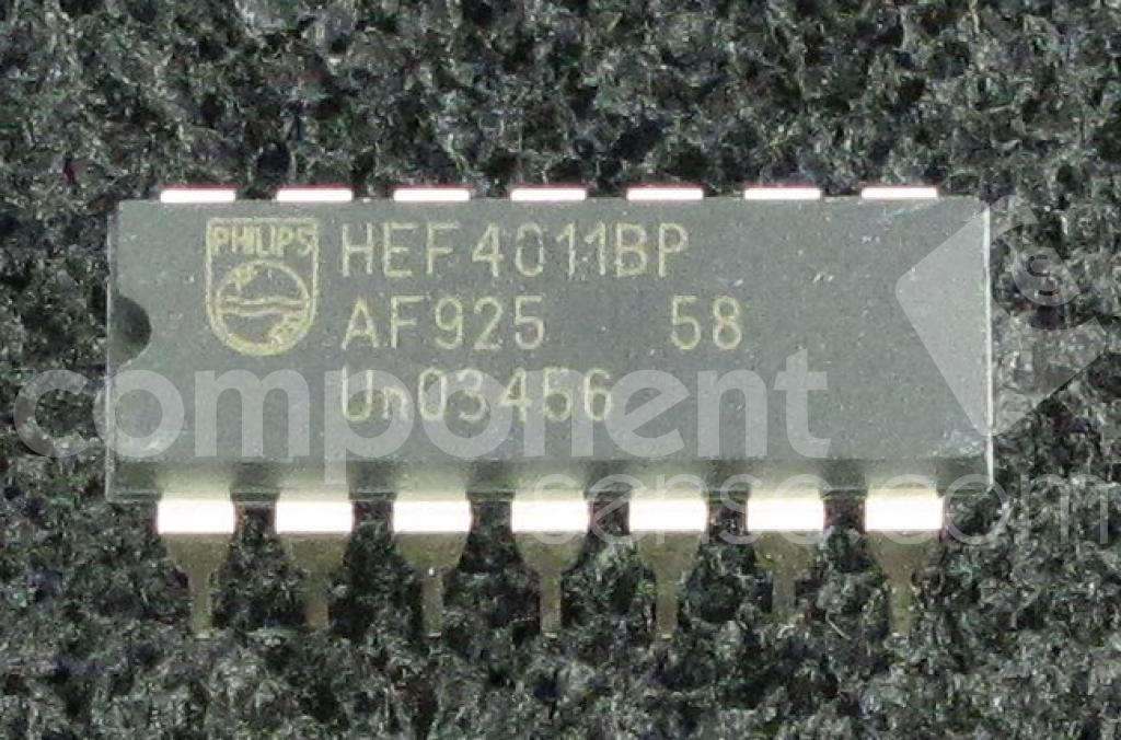 Hef4011bp Nxp Semiconductors Datasheet