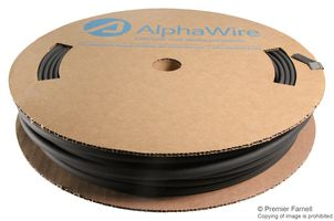 XLPO Heat Shrink Tubing Alpha Wire F2211//8 BK005