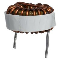 2106-V Inductor High Current Toroid 27uH//19.1uH 15/% 1KHz 5.3A 26mOhm DCR RDL