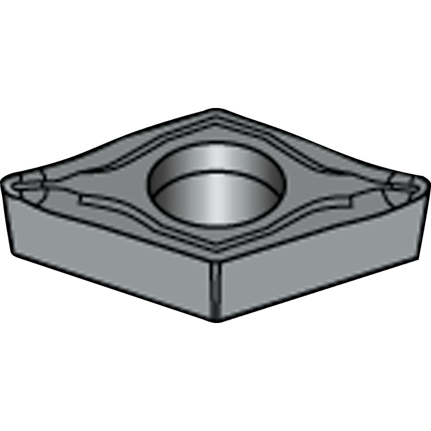 10 x Sandvik DCGX 11T304-AL H10 INDEXABLE INSERTS